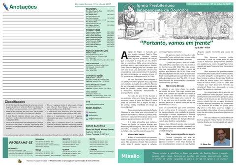 Informativo 31-07-2011