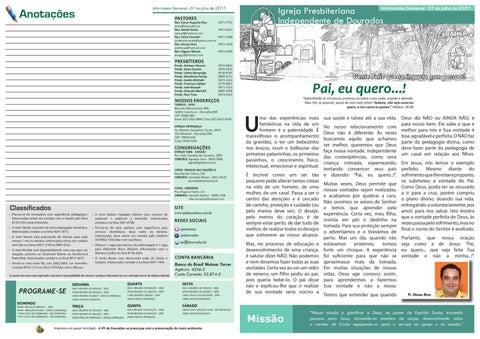Informativo 07-09-2011
