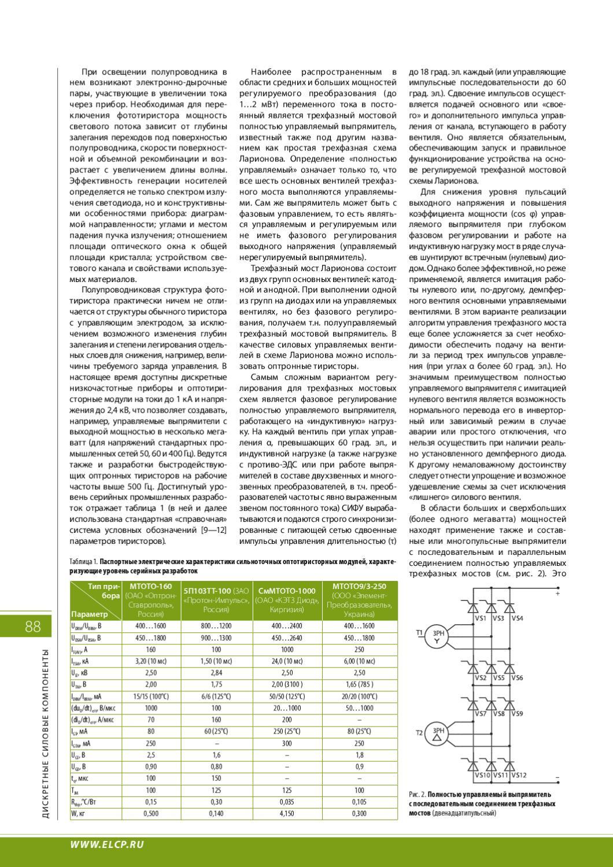 Мостовая схема коэффициент пульсаций