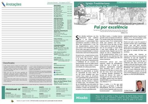 informativo IPI 14-08-2011
