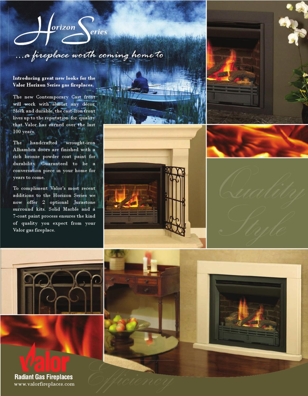 Issuu Valor Gas Fireplaces By Smoke Fire