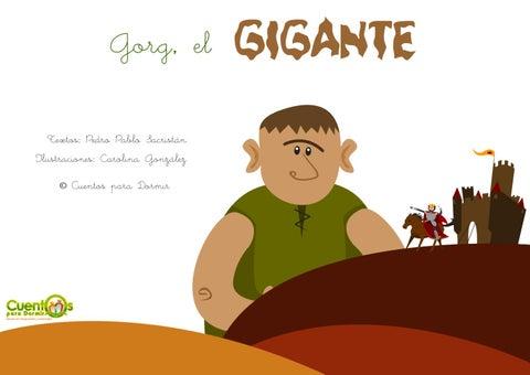 Gorg el gigante. Cuento infantil ilustrado