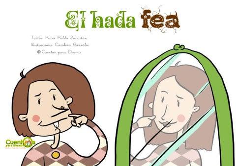El Hada Fea. Cuento infantil ilustrado