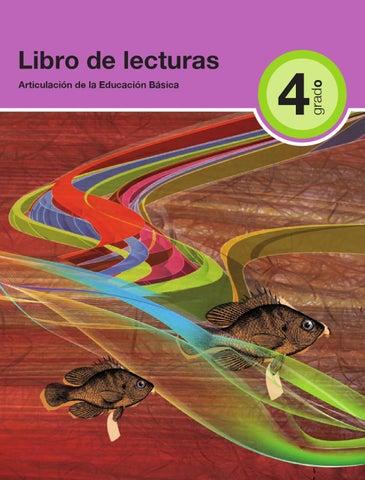 Español Lecturas 4to. grado