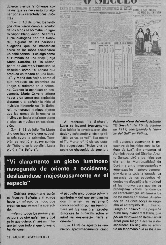 """Artículos interesantes de la Revista """"Mundo Desconocido"""". Andreas Faber Kaiser Page_24"""