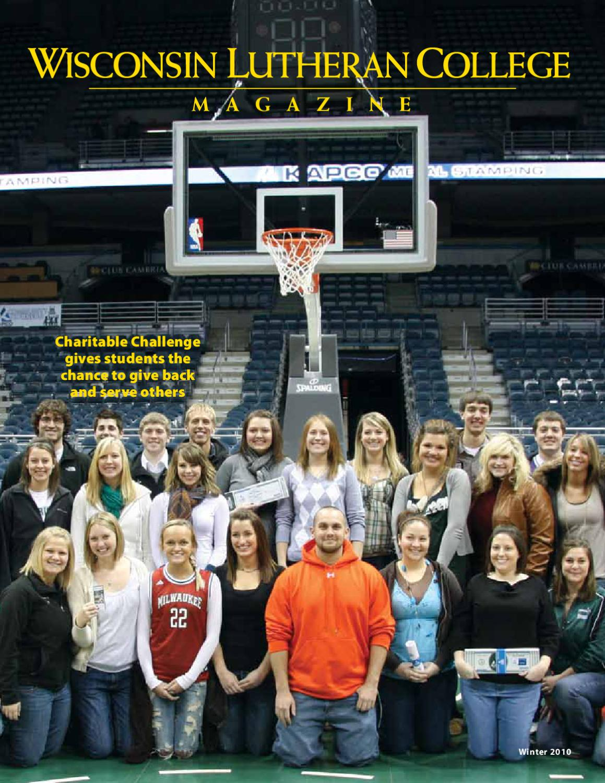 ISSUU - Wisconsin Lutheran College Magazine by Wisconsin ...