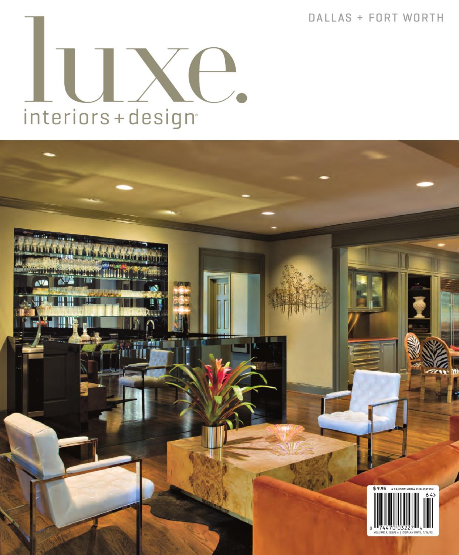 Luxe interiors design dallas 20 by sandow media for Luxe furniture and design