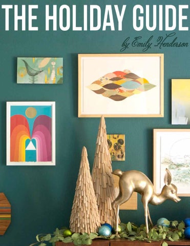 The Holiday Guide by Emily Henderson cover