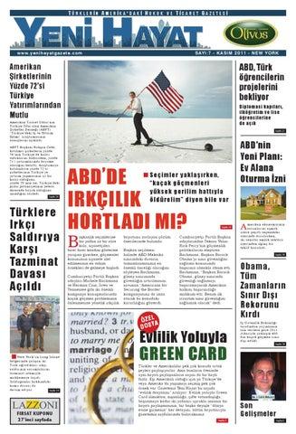 Yeni Hayat Gazetesi, Kasım 2011, Sayı 7