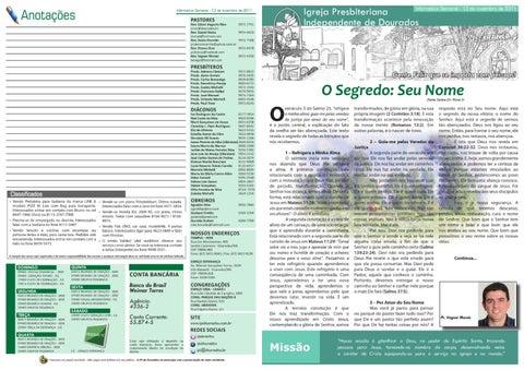 Informativo 13-11-2011