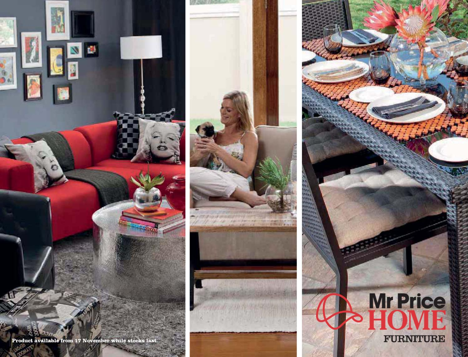 Issuu mr price home furniture catalogue 2011 by mrpg Mr price home furniture catalogue 2011