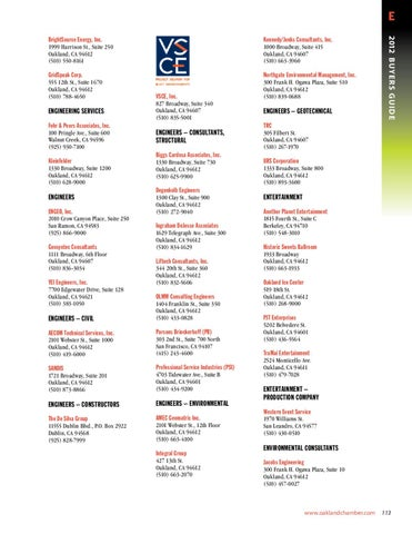 Issuu 2012 membership directory by hank masler for 125 12th street 4th floor oakland ca 94607