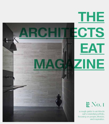 The Architects EAT Magazine No.01