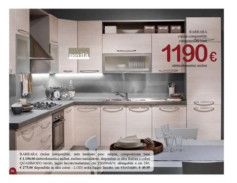 Issuu catalogo semeraro by marco pedrali - Semeraro cucine catalogo ...