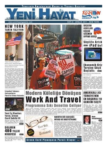 Yeni Hayat Gazetesi, Aralık 2011, Sayı 8