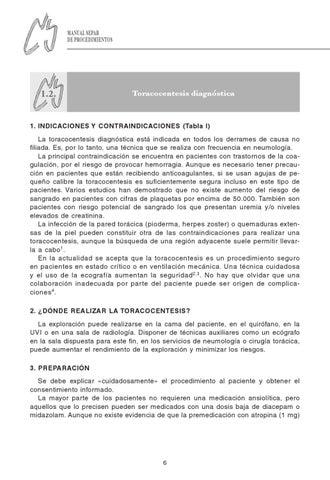 Toracocentesis - Magazine cover