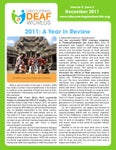 December 2011 Newsletter: vol.5, iss.2