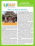 December 2011 Newsletter: vol.5, iss.2