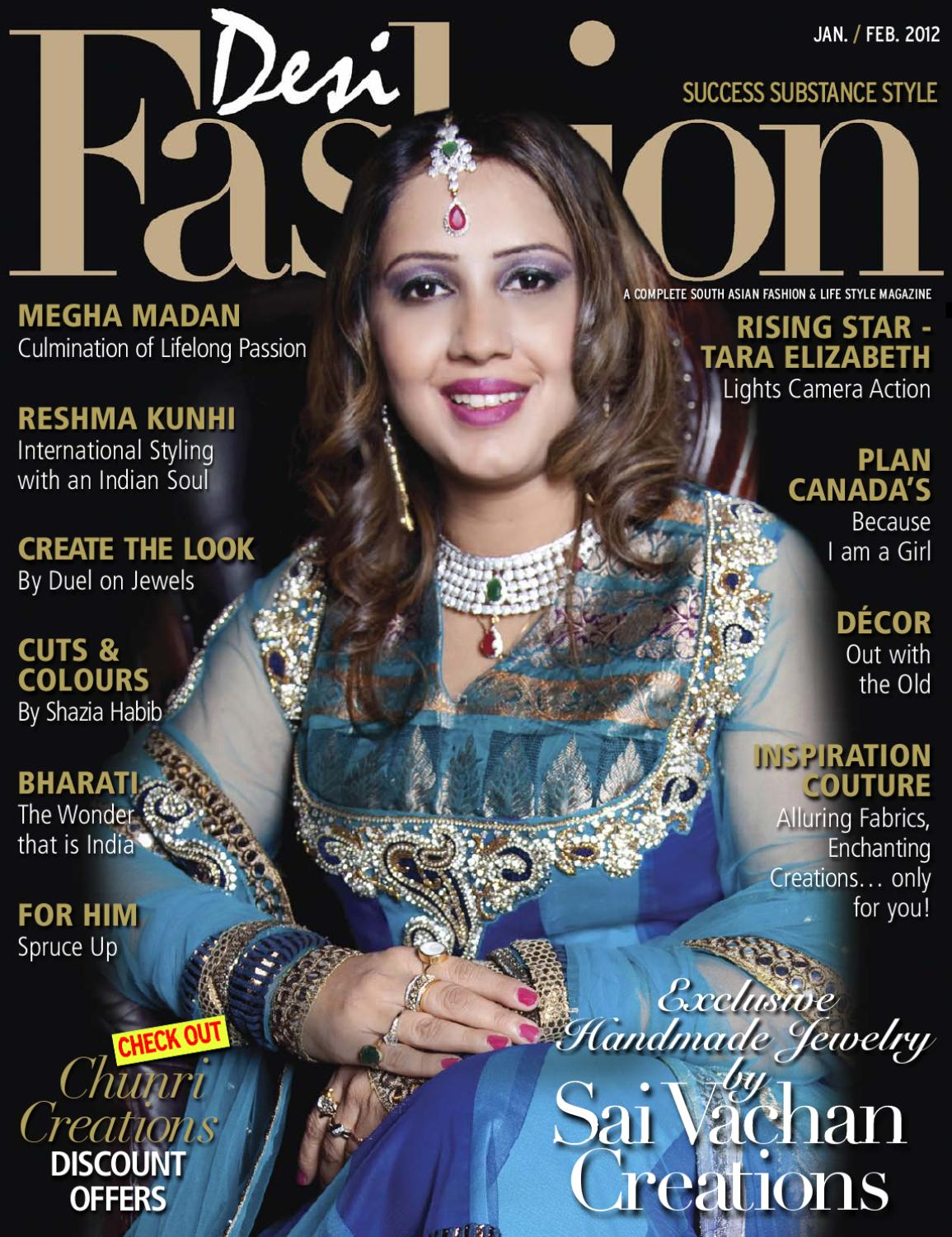 Issuu Desi Fashion Mag Jan Fab 2012 Issue By Desi