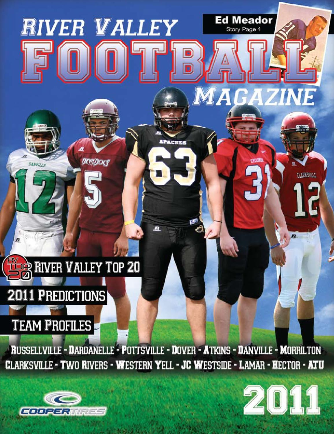 Issuu 2011 River Valley Football By Wmp Marketing