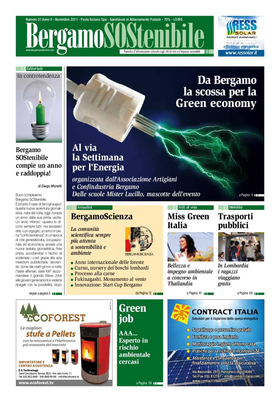 ISSUU - Bergamo SOStenibile 7 by Nello Ruggiero