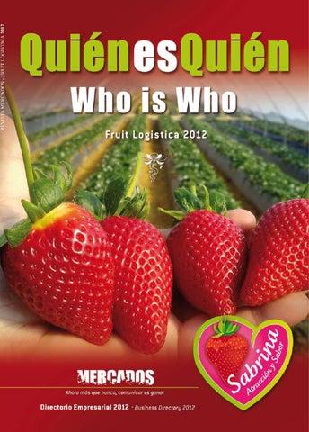 ISSUU - Fruit Logistica 2012 by Revista Mercados