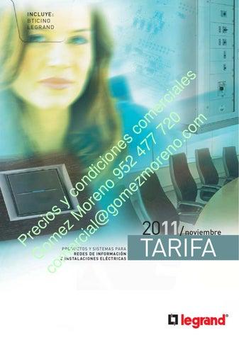 Issuu Legran Bticino Catalogo Y Tarifa 2012 By Gomez