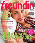 Freundin magazin article february 2012