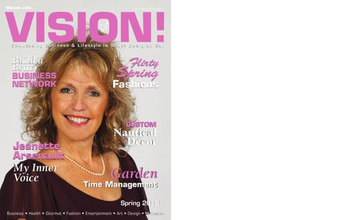 Women With Vision!™ - Spring, 2012