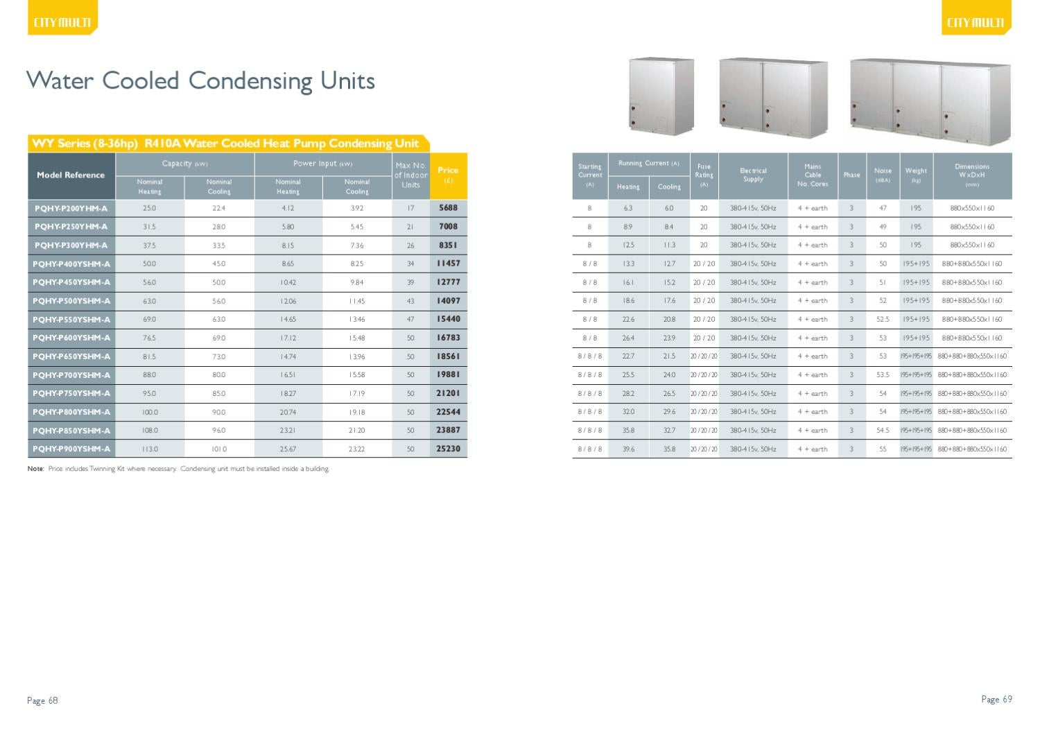 ISSUU - Mitsubishi Air Conditioning Price List by ...