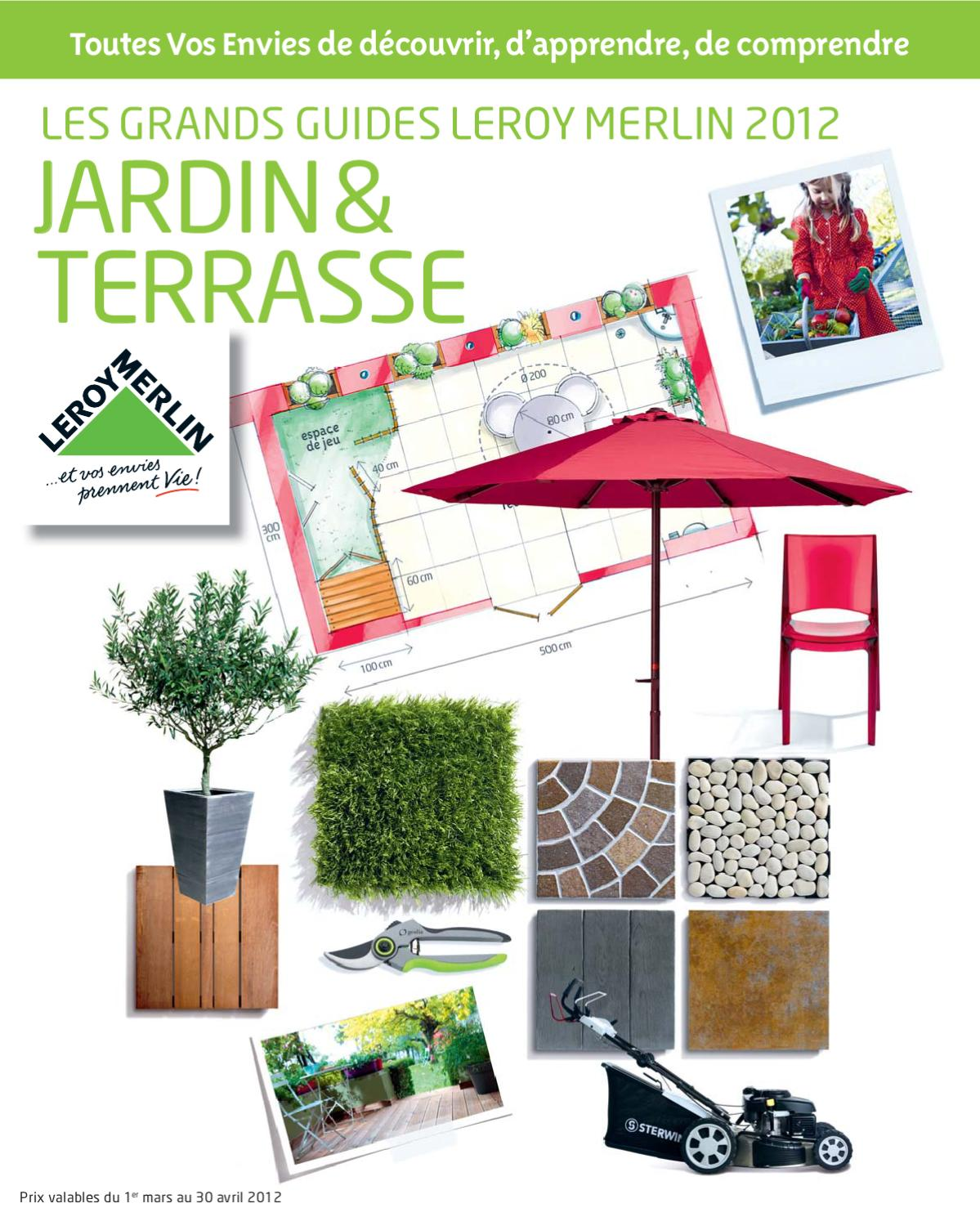 issuu catalogue jardin leroy merlin by marcel. Black Bedroom Furniture Sets. Home Design Ideas