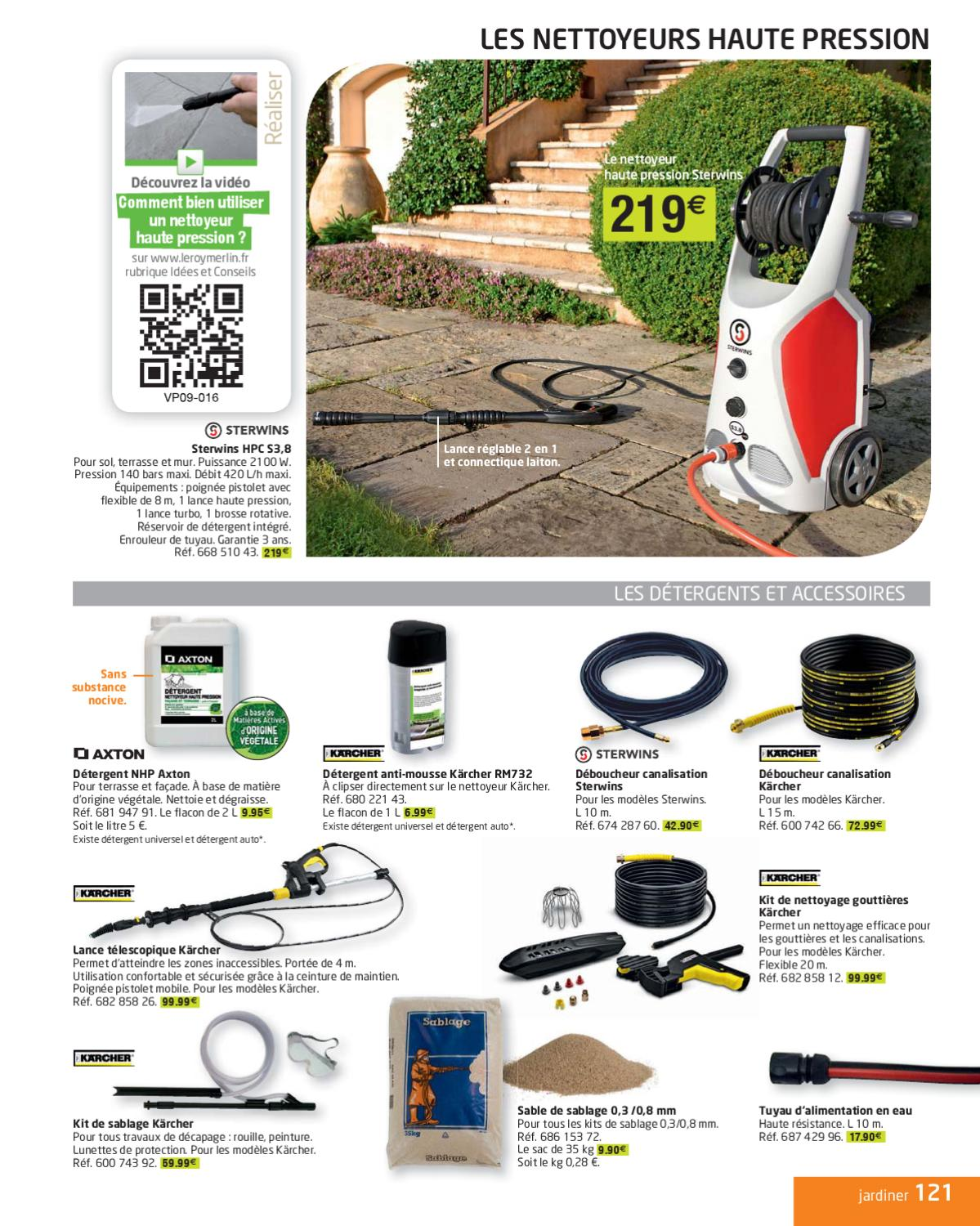 Page for Catalogue leroy merlin jardin