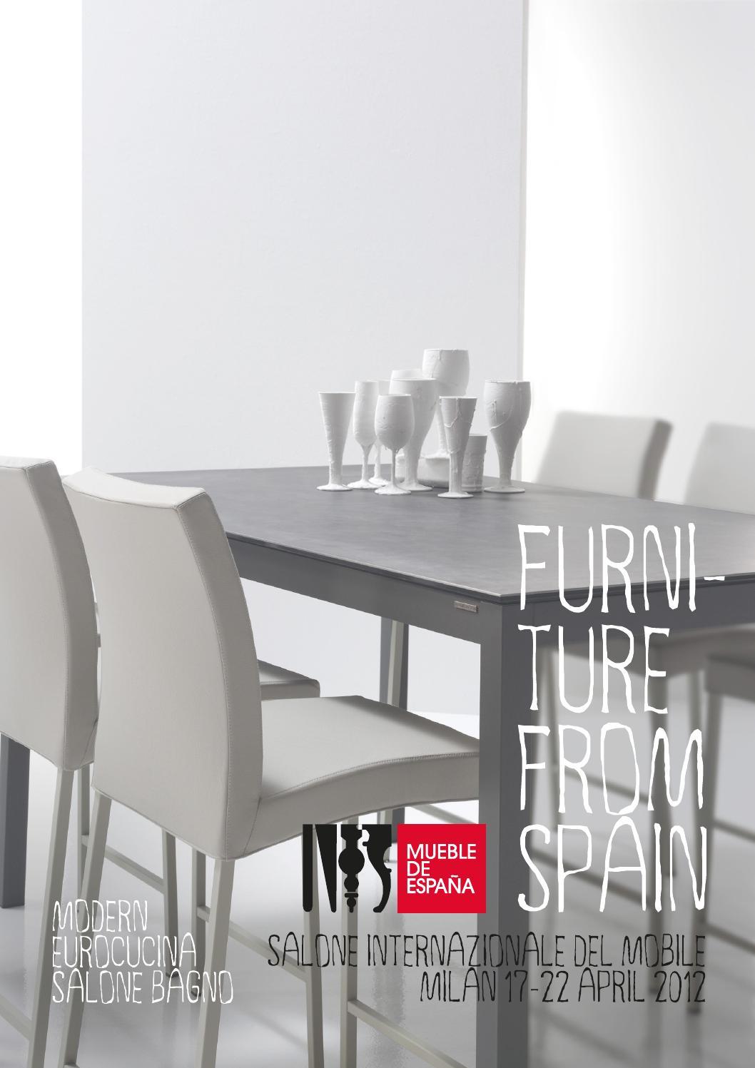Issuu Modern Spanish Furniture At I Saloni 2012 By