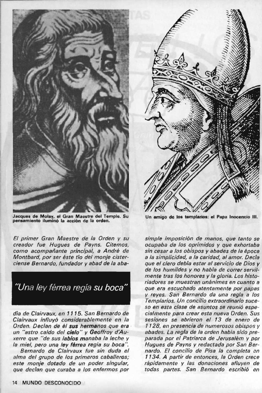 """Artículos interesantes de la Revista """"Mundo Desconocido"""". Andreas Faber Kaiser Page_16"""