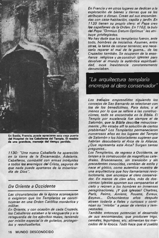 """Artículos interesantes de la Revista """"Mundo Desconocido"""". Andreas Faber Kaiser Page_18"""