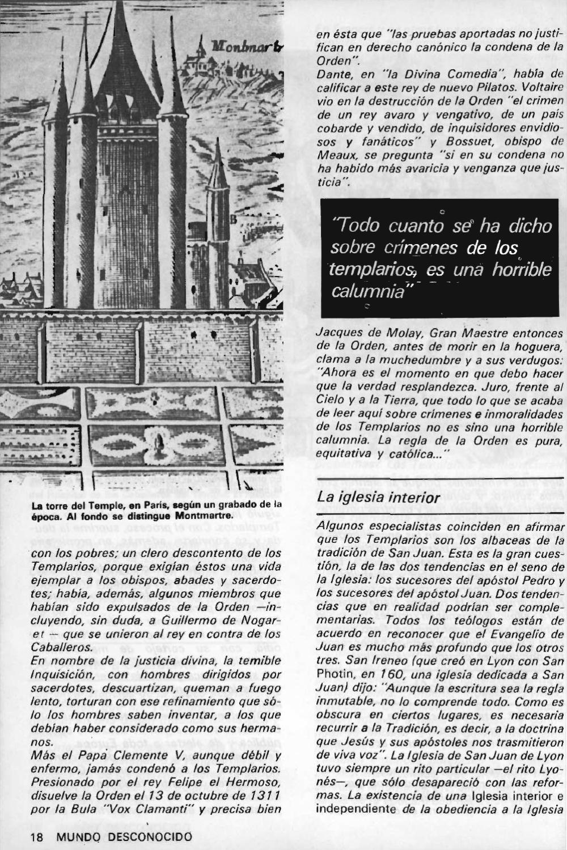 """Artículos interesantes de la Revista """"Mundo Desconocido"""". Andreas Faber Kaiser Page_20"""