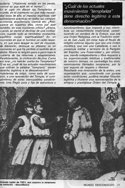 """Artículos interesantes de la Revista """"Mundo Desconocido"""". Andreas Faber Kaiser Page_23"""