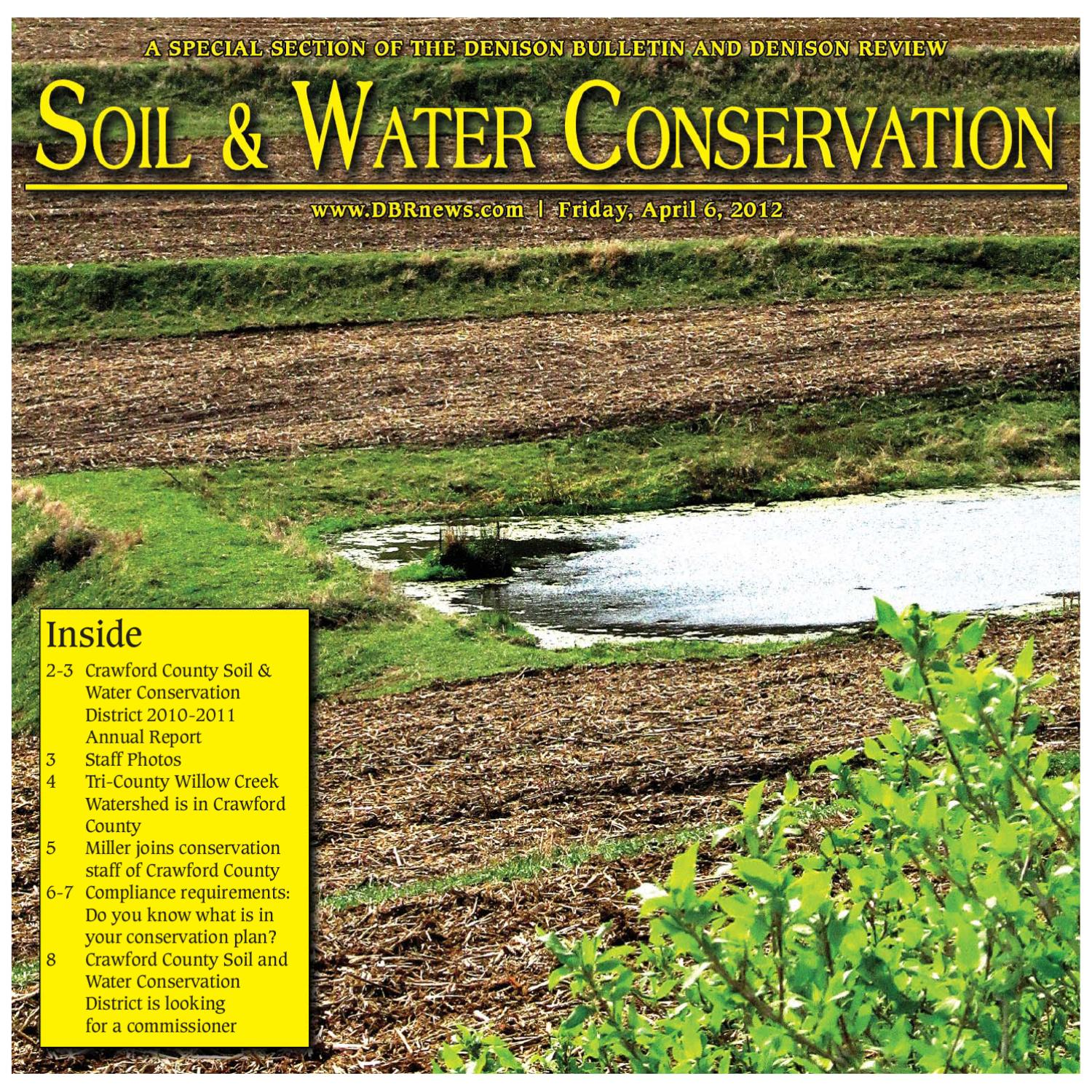 Issuu soil and water conservation by for Soil and water conservation