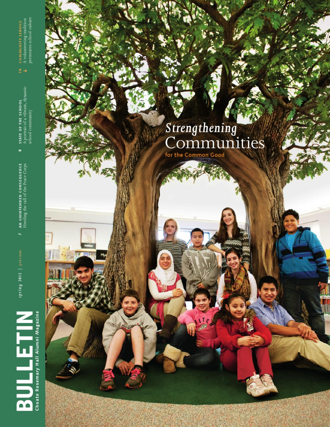Issuu Choate Rosemary Hall Bulletin Spring 2012 By