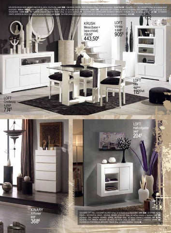 Issuu cat logo banak importa muebles 2012 by - Catalogo banak importa ...