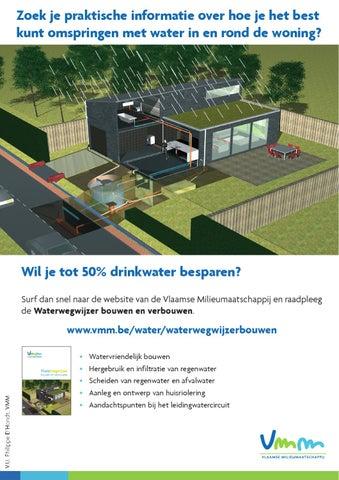 Regenwater drinken gezond