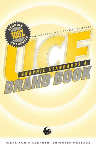 UCF Brand Book and Graphic Standards 2012