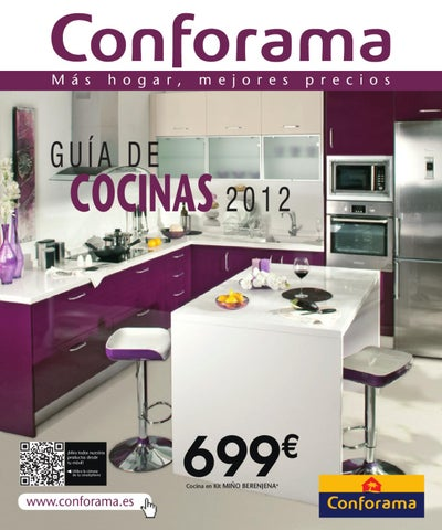 Issuu cat logo conforama cocinas 2012 by for Mesas de cocina conforama