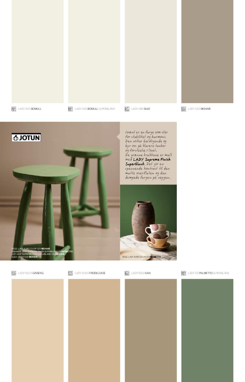 Palmetto Paint Color
