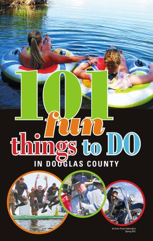 101 Fun Things To Do In Douglas County Cover