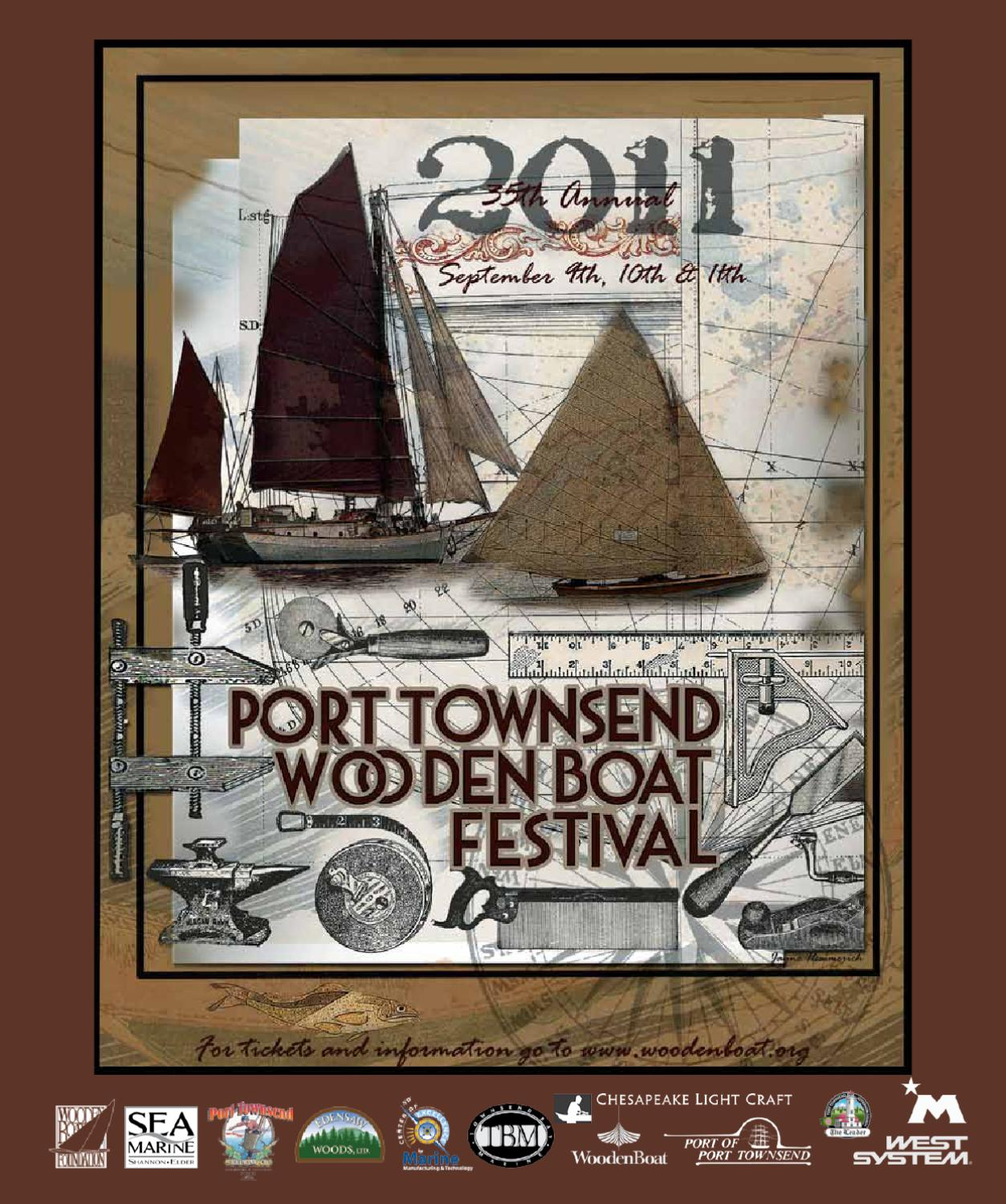 ISSUU - Wooden Boat Festival 2011 Official Program by Port Townsend ...