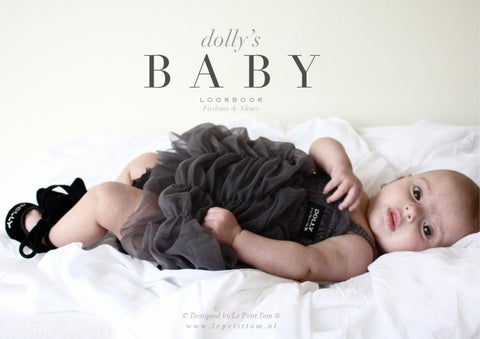 BABY Lookbook DOLLY by Le Petit Tom ® Fashion & Shoes