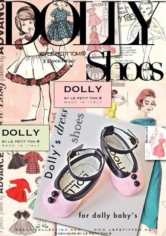 DOLLY by Le Petit Tom ® Baby Girl shoes handmade in Italy