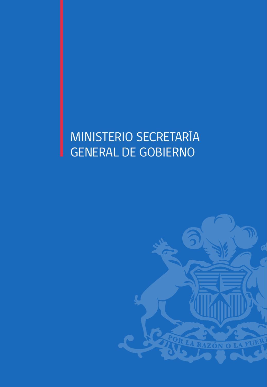 Issuu cuenta p blica 2012 ministerio secretar a general for Ministerio de gobernacion