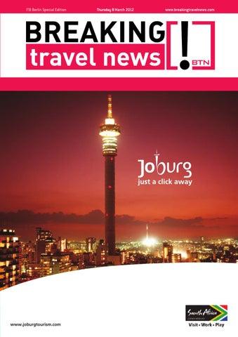 Breaking Travel News Special Edition - ITB Berlin 2012 Day 2